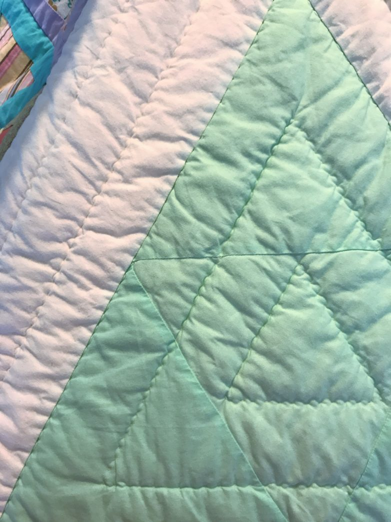 Triangle Quilt The Underfly Co